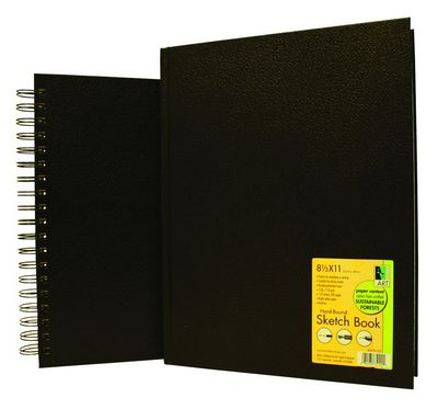 Sketchbook Wire Perforated Book 8.5X11