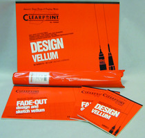 "Clearprint Design and Sketch Pads Unprinted 8-1/2"" x 11"""