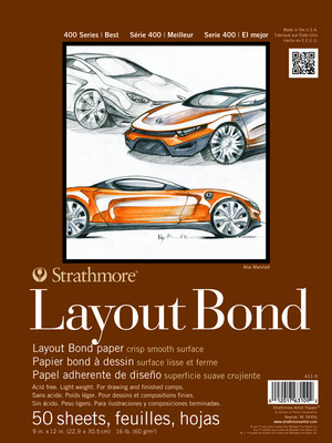 Strathmore Layout Pads400 Series 19 x 24