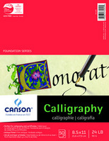 Calligraphy 4 Assorted Colors 85X11