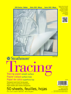 Strathmore Tracing Paper Pad, 300 Series (11 x 14)