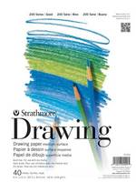 Strathmore Drawing Paper Pad, 200 Series, 40 Sheets (9 x 12)