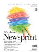 Strathmore Newsprint Paper Pad, 200 Series, 50 Sheets (18 x 24)
