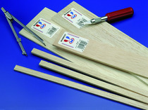 Balsa Wood 116 X 316 X 36 36 Pieces