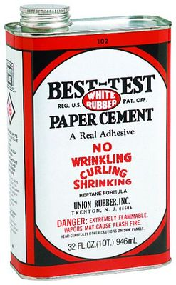 Rubber Cement 4 Oz
