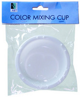 Art Alternatives White Watercolor Cup Peggable Color Mixing Cup