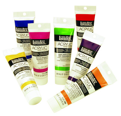 Liquitex Heavy Body Professional Acrylic Colors 2 oz. Tubes Scarlet Red