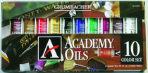 Academy Oil 10 Count Set