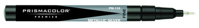 Prismacolor Art Markers Metallic ColorsSingle Nib Silver Broad