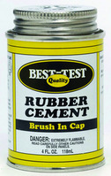 Rubber Cement Economy 4 Oz