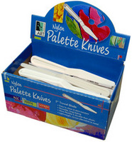 Art Alternatives Nylon Palette Knives 3 Trowel