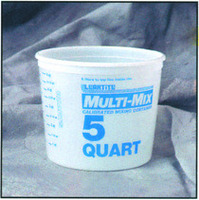 Multi Mix Plastic Tub 2. 5 Quart