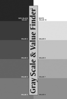Color Wheel Co Gray Scale And Value Finder