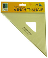 Triangle 6 Inch 60 Degree Ink Edge