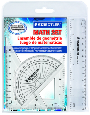 WP4 4 Piece Math Set