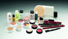 Makeup Kit, Light Med Brown