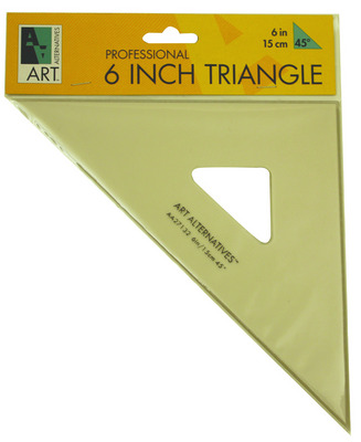 Triangle 12 Inch 60 Degree Ink Edge