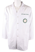 USF Mens Lab Coat with Embroidery and Patch