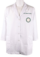 USF Ladies Lab Coat with Embroidery and Patch