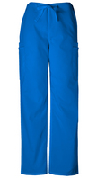 Mens Drawstring Pants Color Royal Blue