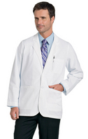 Landau 3224 Consultation Coat, White