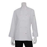 Lemans Ladies Basic Chef Coat