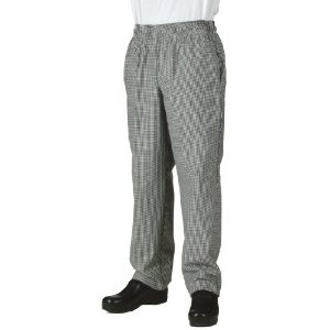 Black & White Checked Pants