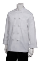 Bordeaux Chef Coat with Logo