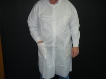 Disposable Lab Coat White