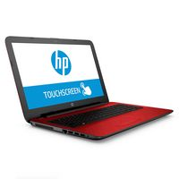 HP Touchscreen Notebook with a 15.6 inch Display. 15AF175NR (Flyer Red)