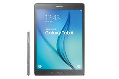 Samsung Galaxy Tab A with a 9.7 inch Display. 16GB (Titanium)