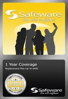 Safeware Product Protection Plan, 1 Year coverage (For products up to $430)