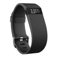 FITBIT CHARGE HR HEART RATE ACTIVITY WRISTBAND BLACK, LARGE