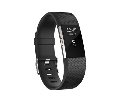 FitBit Charge 2 Wireless Wristband, Large