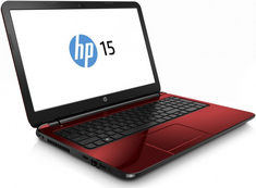 HP Pavillion Notebook with a 15.6 inch Display. 15G073NR  (Flyer Red)