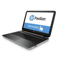 HP Pavillion Notebook with a 15.6 inch Touch Screen. 15P010US (Natural Silver)