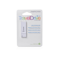 Memorex 8GB TravelDrive White