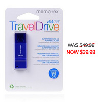 Memorex 64GB 3.0 USB Flash Drive