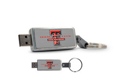 Texas Tech University Custom Logo USB Drive Keychain 16GB
