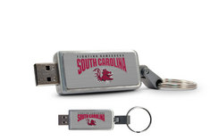 University of South Carolina Custom Logo USB Drive Keychain 16GB
