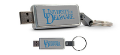 University of Delaware Custom Logo USB Drive Keychain 16GB
