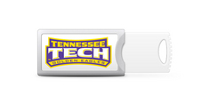 Tennessee Technological University Custom Logo USB Drive Push 16GB Silver