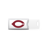 University of Chicago Custom Logo Push USB Drive 16GB