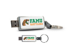 Florida A&M University Custom Logo USB 2.0 Drive Keychain, 16GB