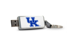 University of Kentucky Custom Logo USB 2.0 Drive Keychain, 16GB