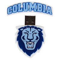 US DIGITAL MEDIA INC Columbia Lions Columbia Lions Custom Logo Shape USB Drive 16GB