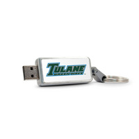 Centon Tulane University V2 Keychain USB Flash Drive, Classic V1  32GB