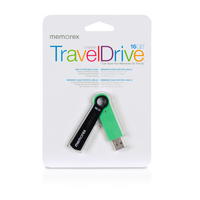 16GB TravelDrive Capless Green