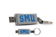 Southern Methodist University Custom Logo USB Drive Keychain 16GB