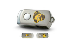 University of Southern Mississippi Custom Logo USB Drive DataStick Twist 16GB